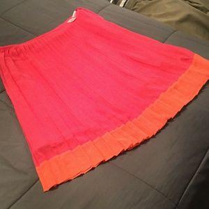 Dresses & Skirts - SOPHISTICATED JONES NEW YORK PLEATED PINK SKIRT!